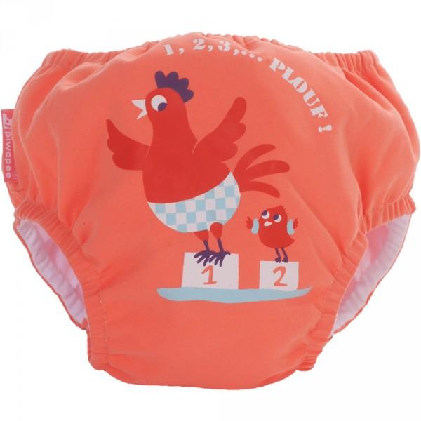 Maillot de bain bébé couche cocotte 11-14 kg Piwapee