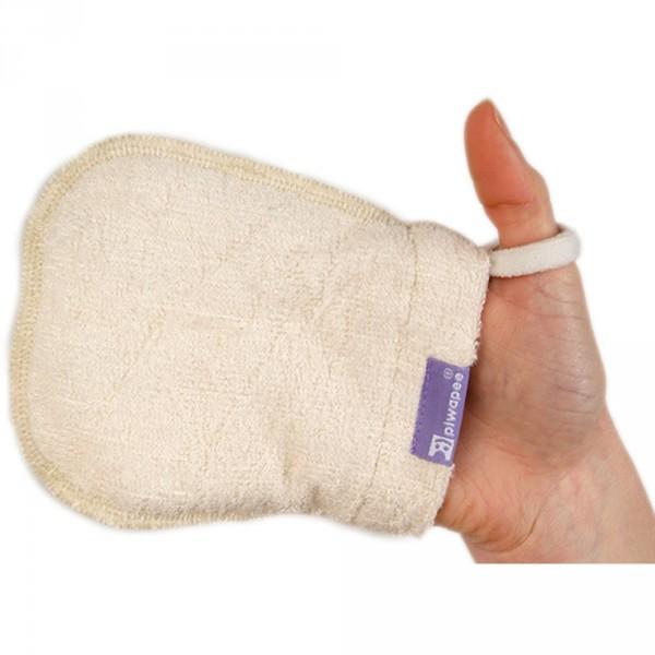 5 gants lingettes en bambou Piwapee