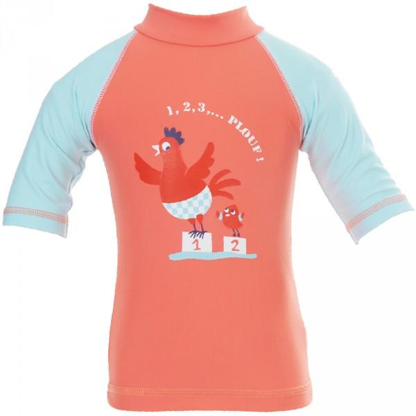Tee-shirt anti-uv cocotte 3-6 mois Piwapee