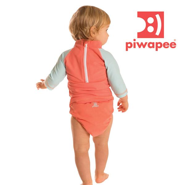 Tee-shirt anti-uv cocotte 6-12 mois Piwapee