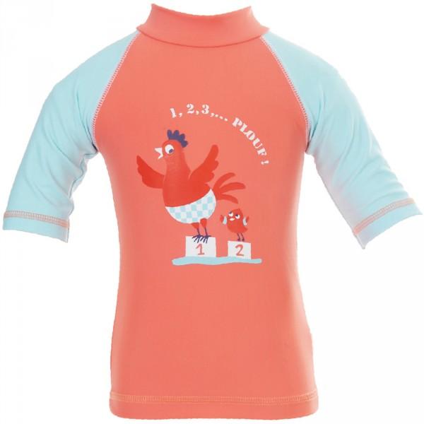 Tee-shirt anti-uv cocotte 12-24 mois Piwapee