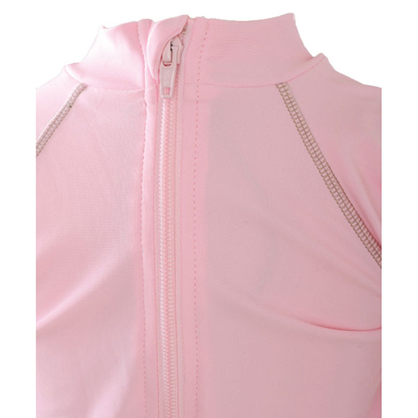 Tee-shirt anti-uv la petite vahinee rose 3-6mois Piwapee