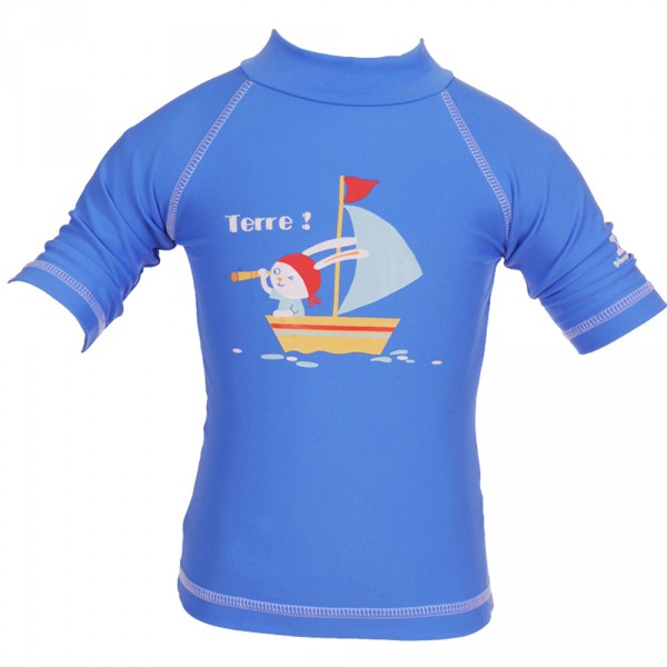 Tee-shirt anti-uv lapin moussaillon 6-12 mois Piwapee