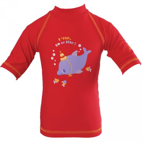Tee-shirt anti-uv dauphin 6-12 mois Piwapee