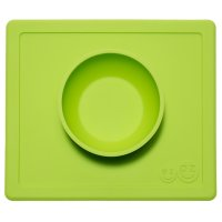 Bol avec set de table tout-en-un happy bowl vert