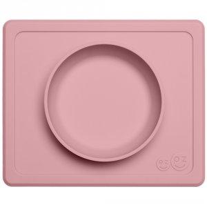 Mini bol avec set de table tout-en-un mini bowl rose poudré