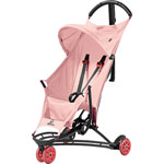 Poussette 3 roues yezz pink pastel série limitée miami pas cher