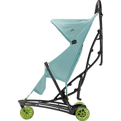 Poussette 3 roues yezz blue pastel série limitée miami Quinny