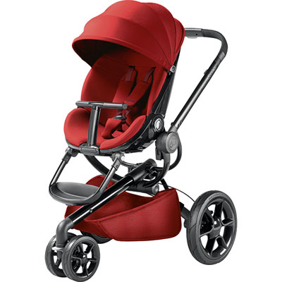 Poussette 3 roues moodd red rumour Quinny