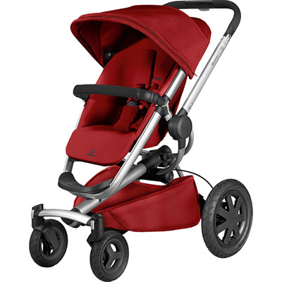 Poussette 4 roues buzz xtra red rumour 2016 Quinny
