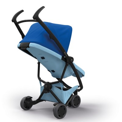 Poussette 3 roues zapp flex blue on sky Quinny