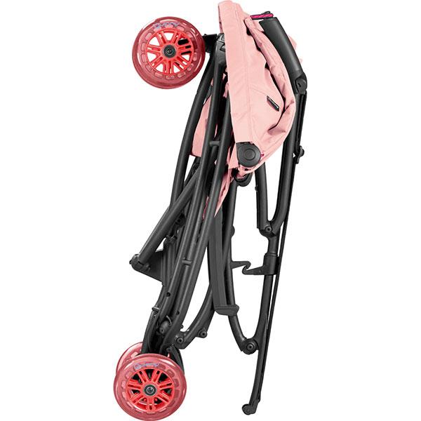 Poussette 3 roues yezz pink pastel série limitée miami Quinny
