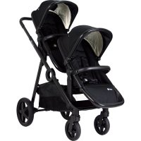 Poussette double duetpro full black