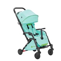 Poussette 4 roues compact tody menthe