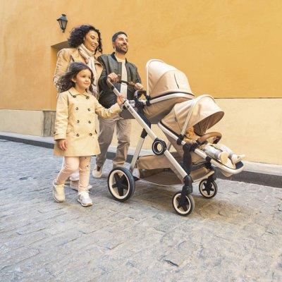 Poussette double duetpro moka 2019 Qtus