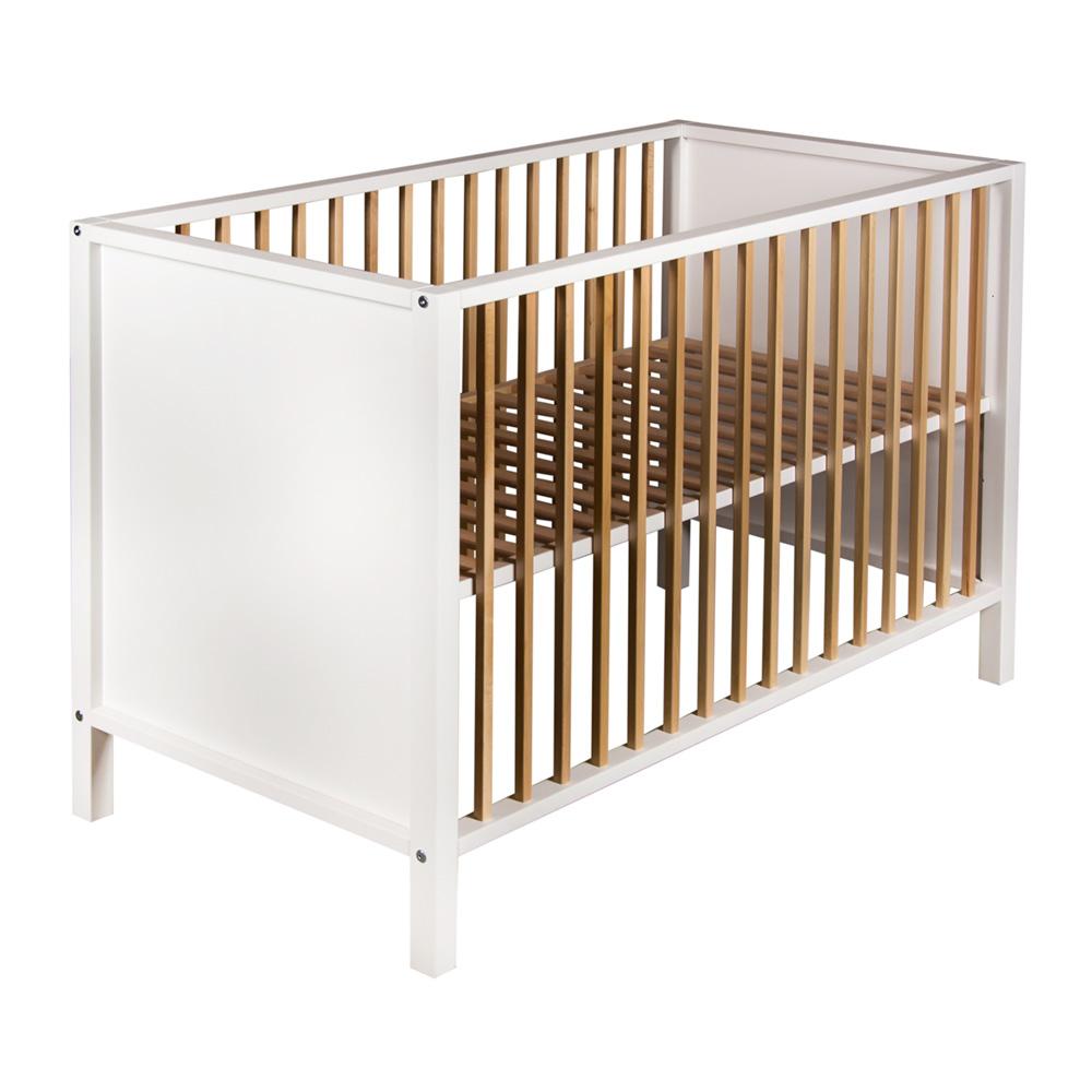 lit b b nordic white naturel de quax chez naturab b. Black Bedroom Furniture Sets. Home Design Ideas