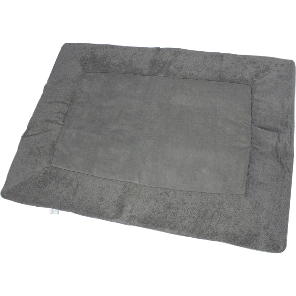 tapis de parc dark grey de quax chez naturab b. Black Bedroom Furniture Sets. Home Design Ideas