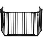 Barriere de sécurité pare-feu grand modele noir