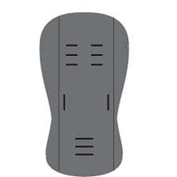Assise universelle dark grey