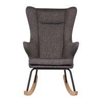 Fauteuil rocking chair de luxe black
