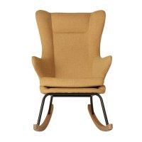 Fauteuil rocking chair de luxe saffran
