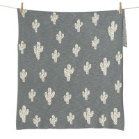 Couverture tricot on the go xl cactus