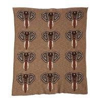 Couverture tricot on the go xl éléphant