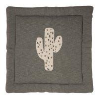 Tapis de parc tricot cactus