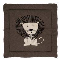 Tapis de parc tricot lion 73 x 93 cm