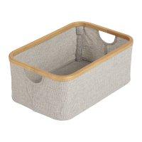 Panier de rangement pour meuble de bain et tables à langer quax