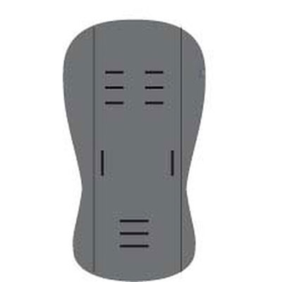 Assise universelle dark grey Quax