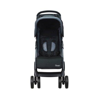 Poussette 4 roues travelsystem noir Quax