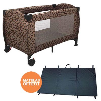 lit parapluie 60 x 120 cm tartufo matelas pliant offert 16 sur allob b. Black Bedroom Furniture Sets. Home Design Ideas