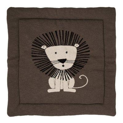 Tapis de parc tricot lion Quax