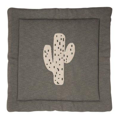 Tapis de parc tricot cactus 100 x 100 cm Quax