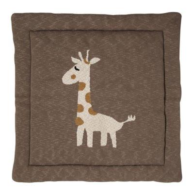 Tapis de parc tricot girafe 100 x 100 cm Quax
