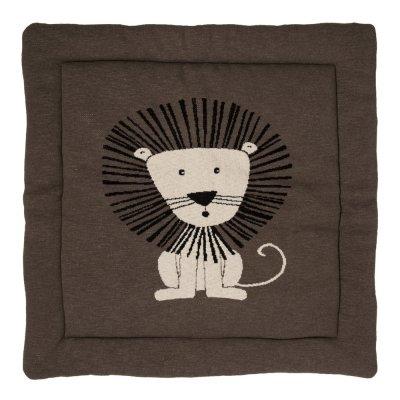 Tapis de parc tricot lion 100 x 100 cm Quax