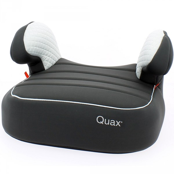 R hausseur auto dreamy black sylver groupe 2 3 de quax for Rehausseur auto isofix groupe 3