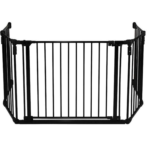 Barriere de sécurité pare-feu grand modele noir Quax