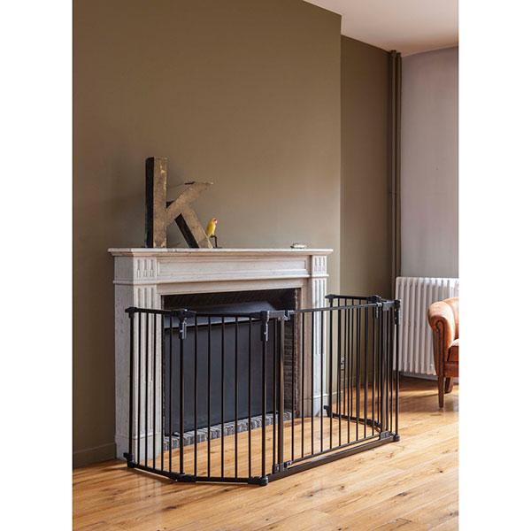 barriere de s curit pare feu grand modele noir 15 sur allob b. Black Bedroom Furniture Sets. Home Design Ideas
