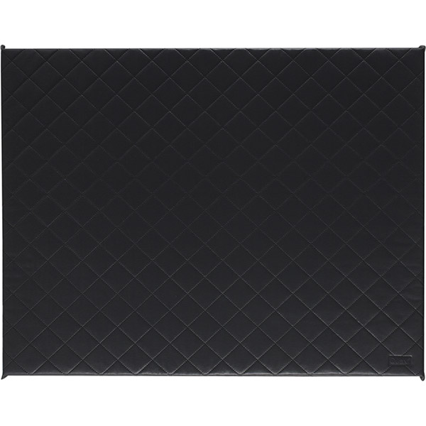 Tapis de parc matelassé 93x72.5cm dark grey Quax