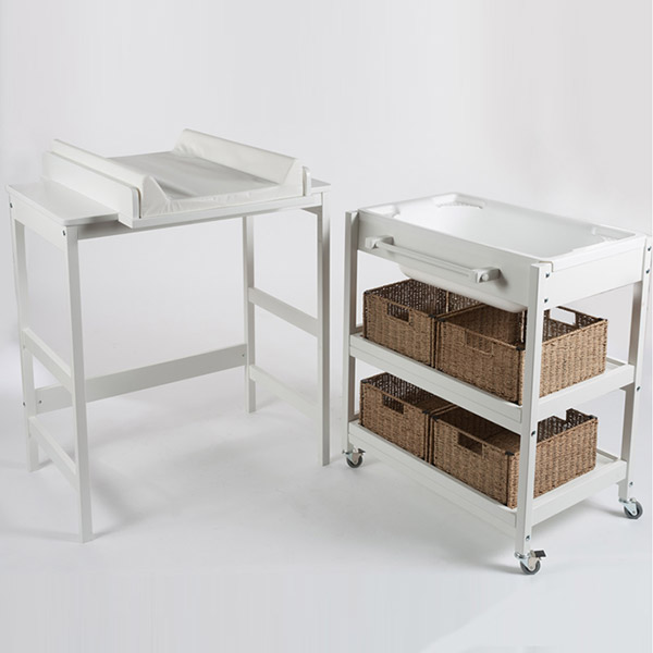Table à langer comfort smart white Quax