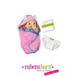 Accessoire pour poupée rubens baby set à langer pas cher