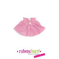 Robe rose pour poupée little rubens