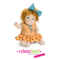 Poupée little anna little rubens party collection 40 cm