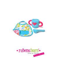 Accessoire pour poupée rubens baby set d'alimentation