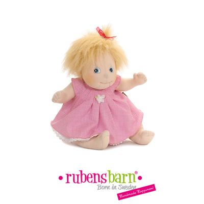 Robe rose pour poupée little rubens Rubens barn