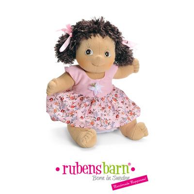 Robe clara pour poupée rubens ark et kids Rubens barn