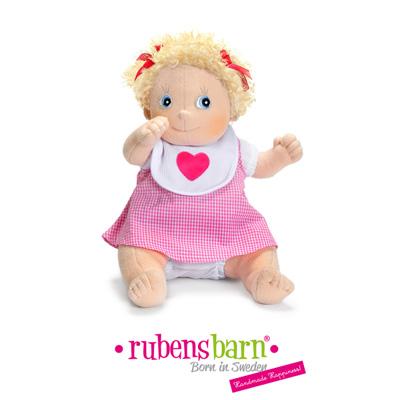 Robe linnea pour poupée rubens ark et kids Rubens barn