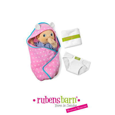 Accessoire pour poupée rubens baby set à langer Rubens barn